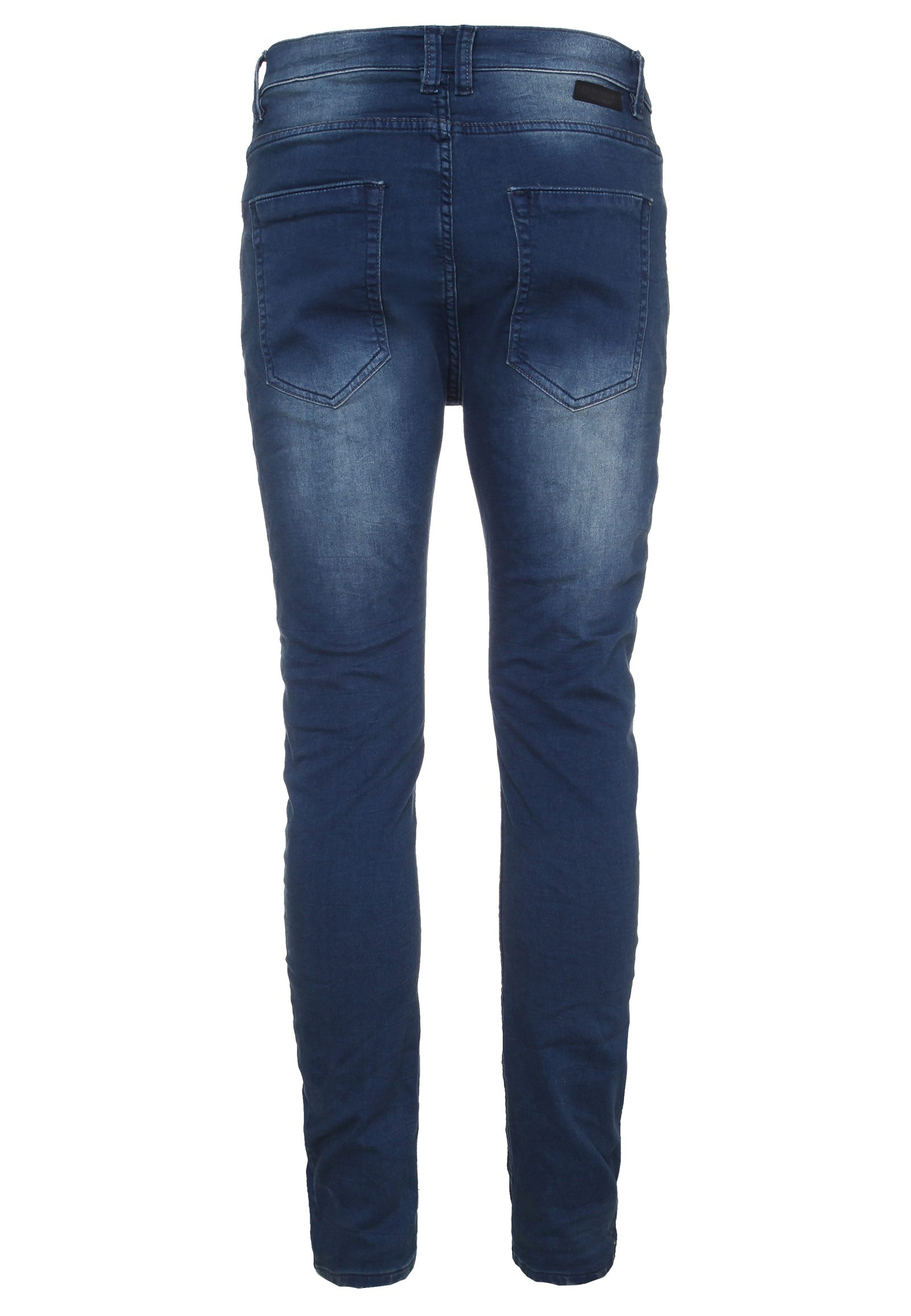 Vorschau: Blaue Herren Sweat Hose in Denim-Optik