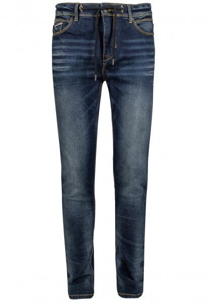 Slim-Fit Jeans mit Kordel