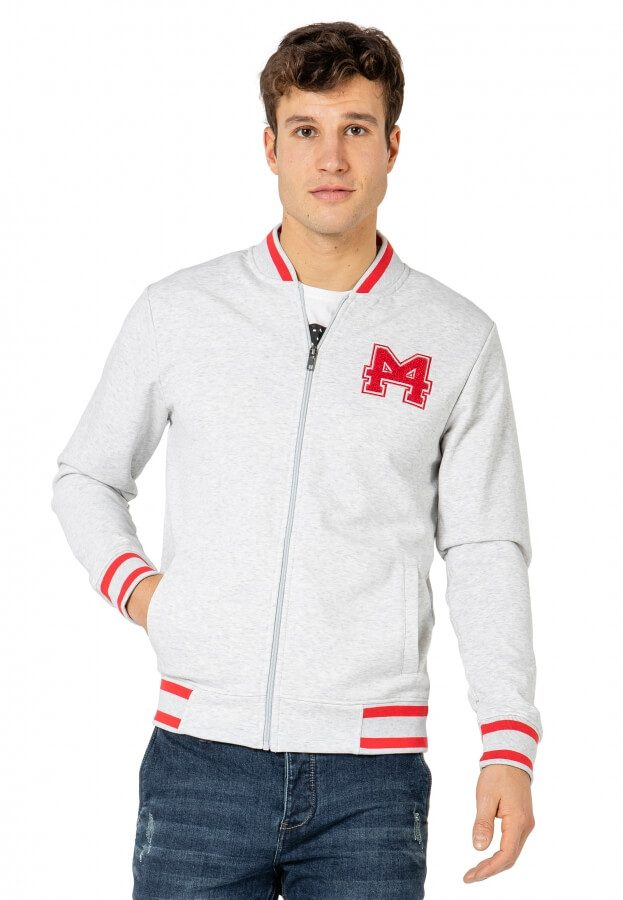 College Sweat-Jacke