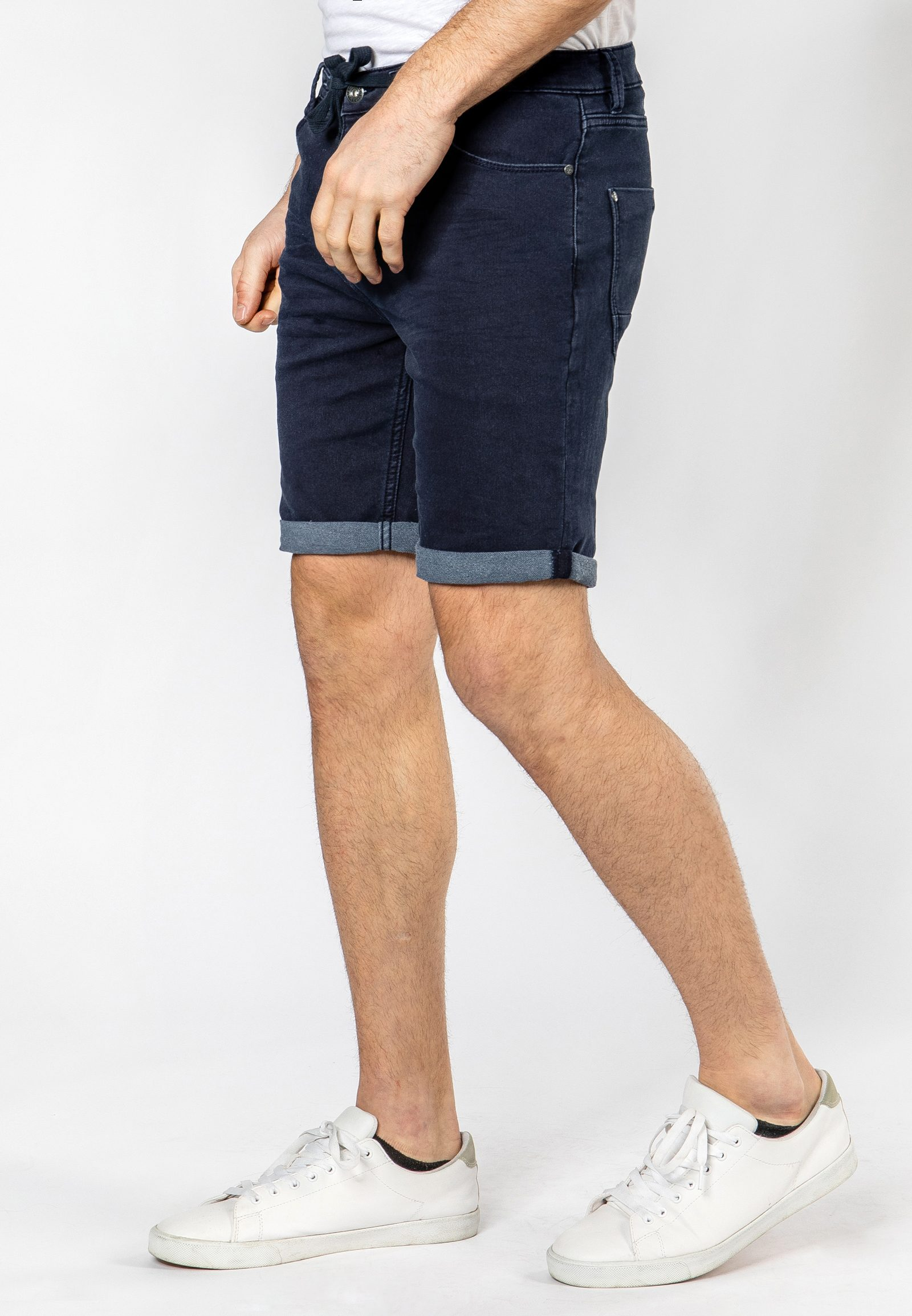 Vorschau: Sweat Bermuda in Denim-Optik