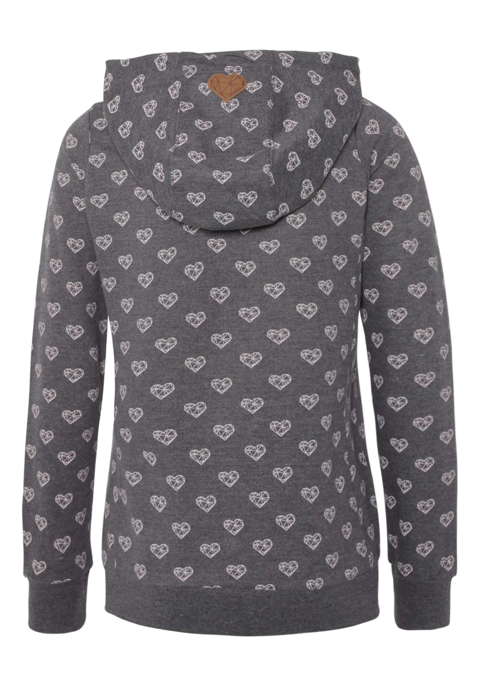 Vorschau: Alloverprint Sweatjacke