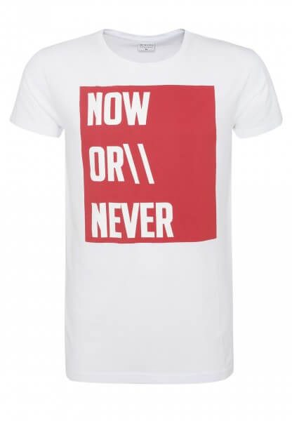Herren T-Shirt - Now or never