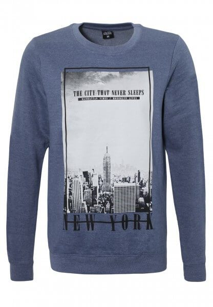 Herren Sweatshirt New York