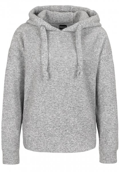 Hoodie in Fleece-Optik
