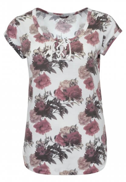T-Shirt - Allover Blumen Print