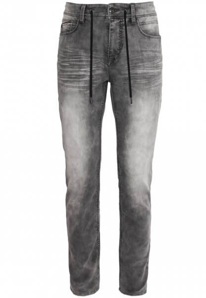 Herren Sweat Hose in Denim-Optik mit Kordel