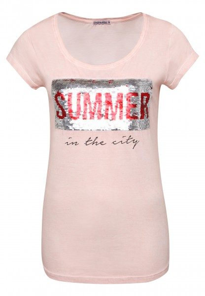 Shirt - Wendepailletten Summer