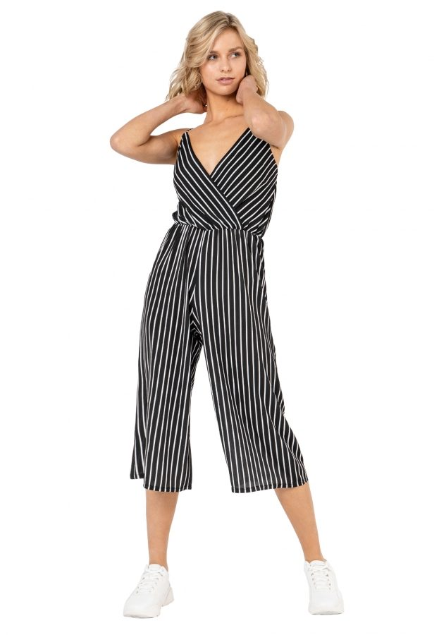 Jumpsuit im Wickeldesign