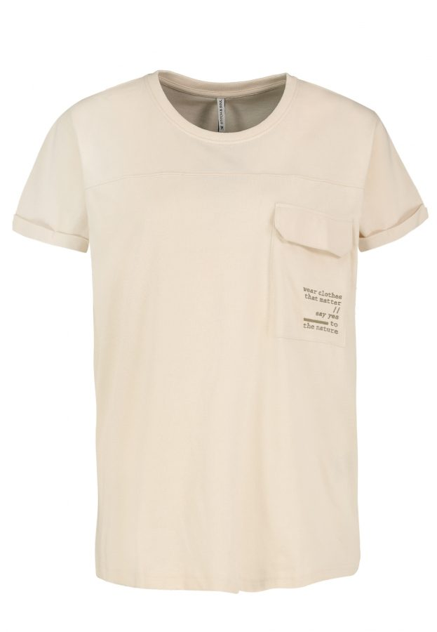 T-Shirt im Utility-Look