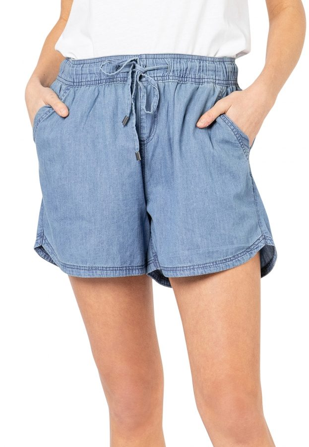 Leichte Denim Shorts