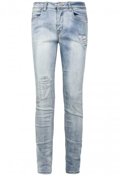 Skinny Jeans mit Destroyed Parts