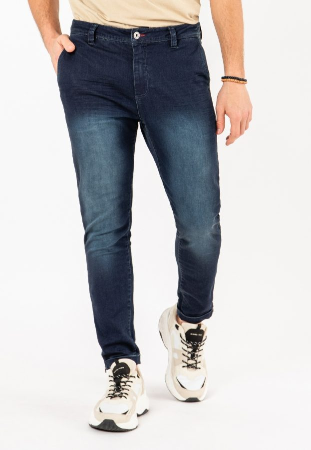 Chino aus Sweat Denim