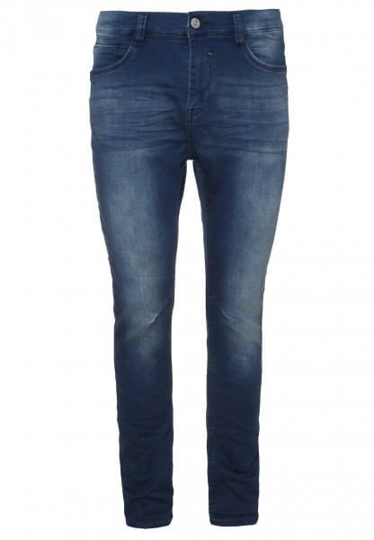 Blaue Herren Sweat Hose in Denim-Optik