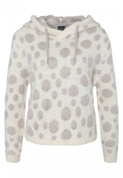 Flauschiger cropped Pullover