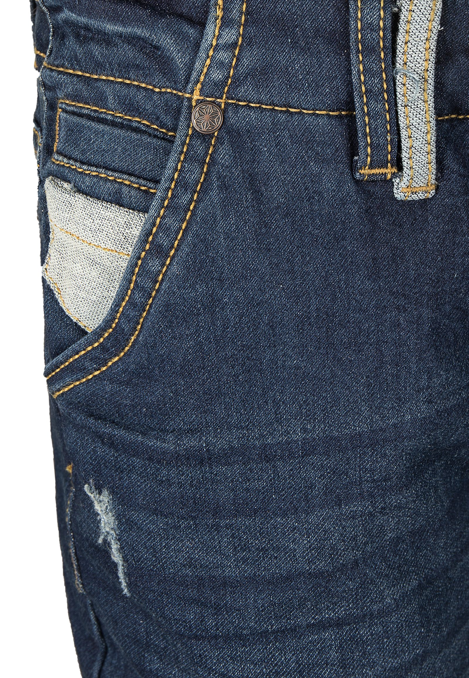 Vorschau: Boyfriend Sweat Hose in Denim-Optik