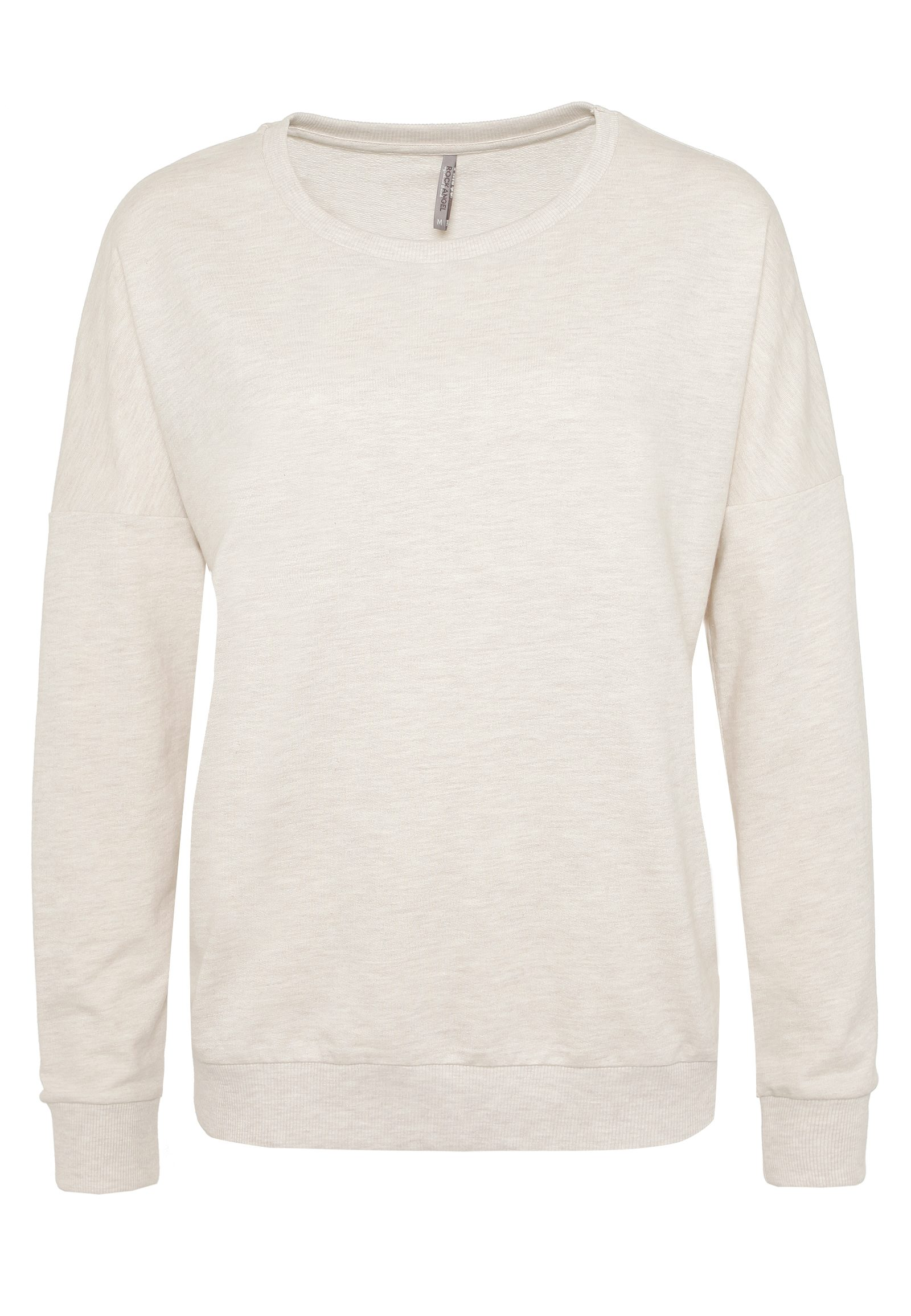 ANGEL Damen Volants Sweatshirt MAILIN beige | 04058427410625