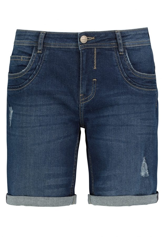 Stretch Bermuda aus Jeans